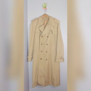 1970s vintage trench coat.  O3002